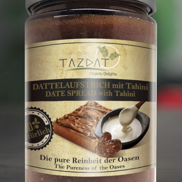 Tazdat Date Spread With Tahini